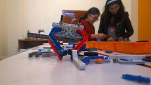 niñas en robótica con lego