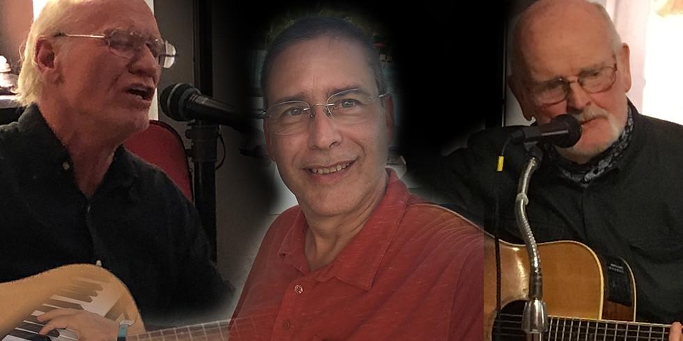 Chris Bell with Larry Rosen + Bob Sharpe