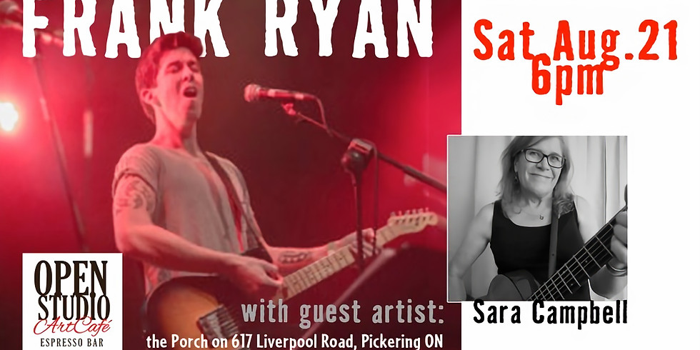 Frank Ryan accompanied by guest Sara Campbell