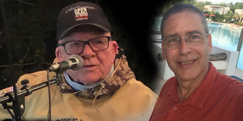 Larry Dick with Larry Rosen