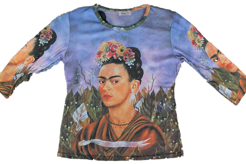 Frida Self Portrait Dedicated to Dr Eloesser - Mama T's