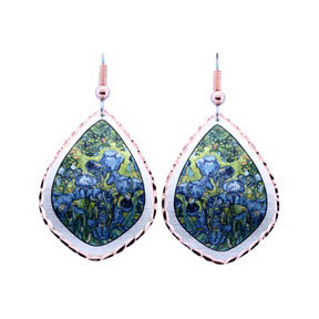 Van Gogh Irises Earrings