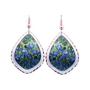 Van Gogh Irises Earrings