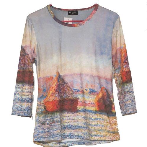 Haystacks by Monet