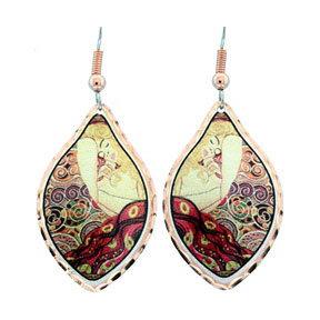Gustav Klimt Danea Earrings