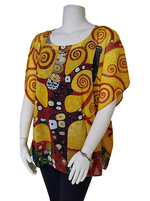 Tree of Life by Klimt Pop-Over