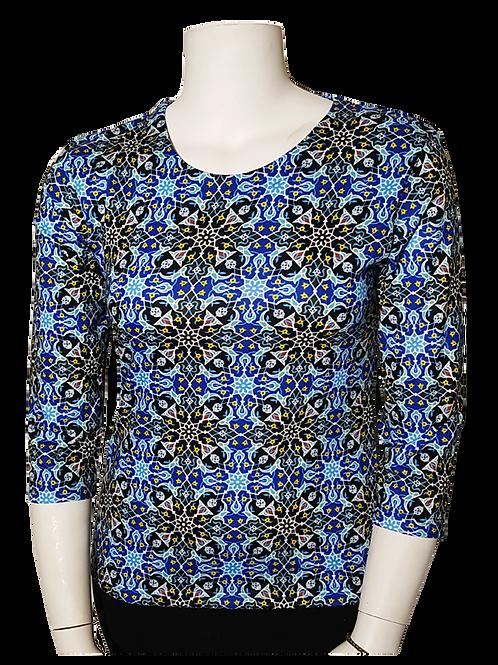 Islamic Design 3/4 Sleeve Art Shirt