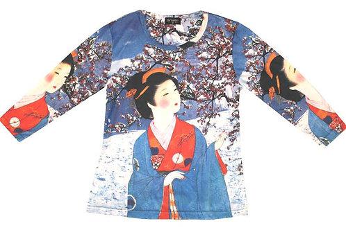 Geisha #1 Snow