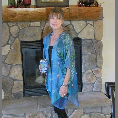 Monet Water Lilies Kimono
