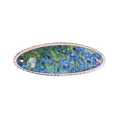 Van Gogh Irises Hair Clip