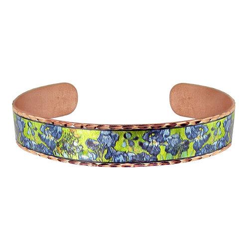 Van Gogh Irises Bracelet