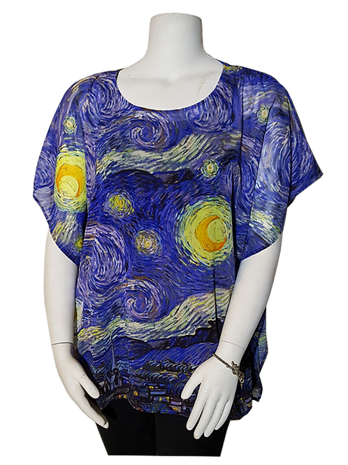 Starry Starry Night by Van Gogh Pop-Over