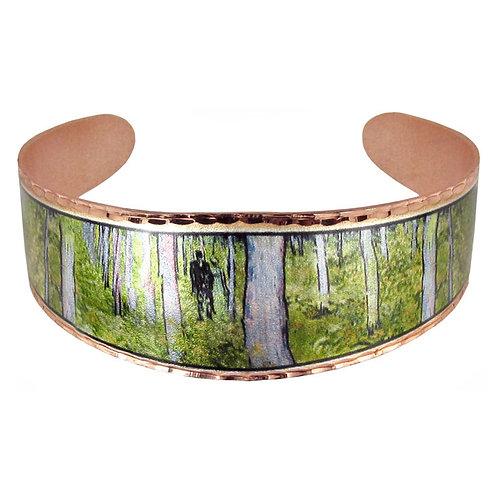 Van Gogh's Undergrowth Cuff Bracelet