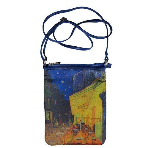 Van Gogh Cafe Art Hipster Bag