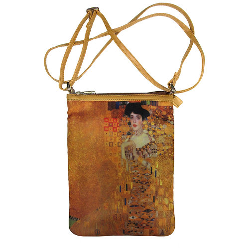 Klimt Portrait of Adele Art Hipster Bag