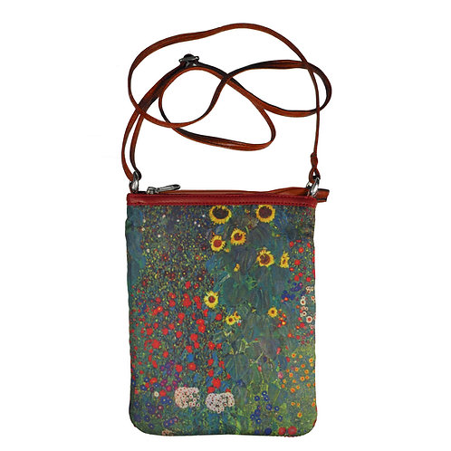 Klimt Flower Garden Art Hipster Bag