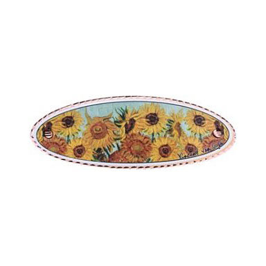 Van Gogh Sunflowers Hair Clip