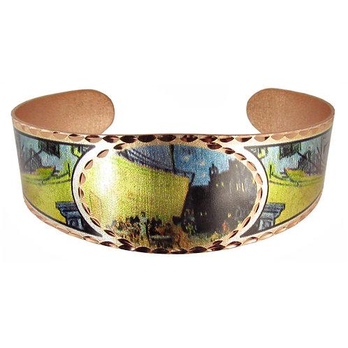 Van Gogh's Café Cuff Bracelet