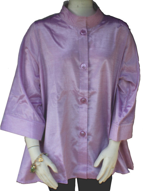 Lilac Iridescent Solid Swing Top