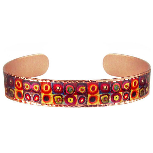 Kandinsky Color Study Art Bracelet