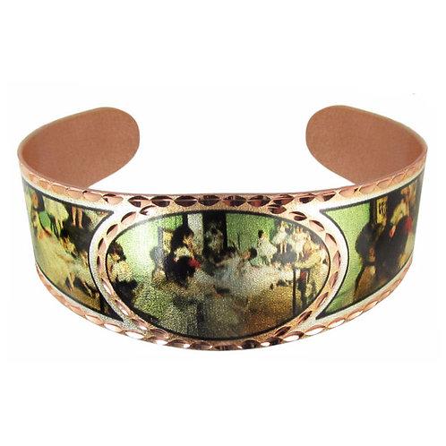 Degas Dance Class Cuff Bracelet
