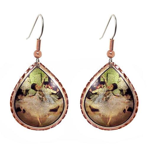 Degas Dance Class Earrings