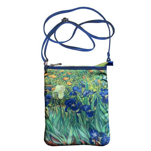 Van Gogh Irises Art Hipster Bag