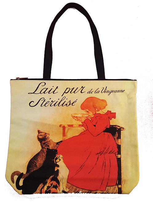Cats  Canvas Tote