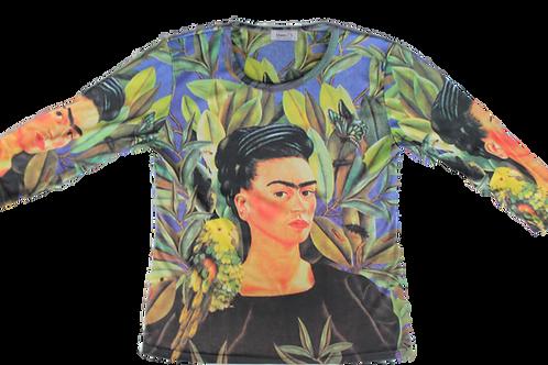 Frida Self Portrait with Bonito - Mama T's