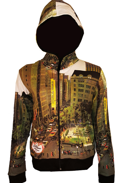 NY Fifth Avenue Art Hoodie