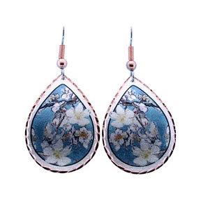 Van Gogh Almond Blossoms Earrings
