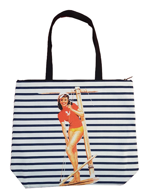 Girl #2 Canvas Tote