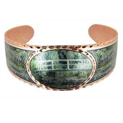 Monet Japanese Cuff Bracelet