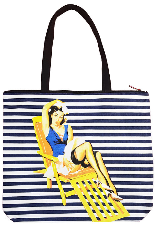 Girl #3 Canvas Tote
