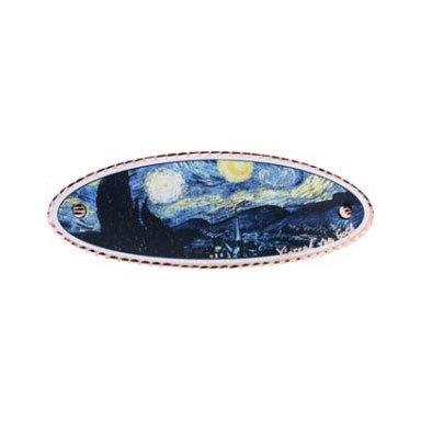 Van Gogh Starry Night Hair Clip
