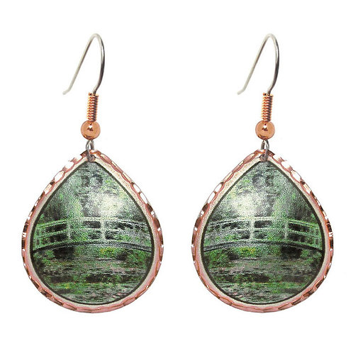 Monet Japanese Bridge Earrings