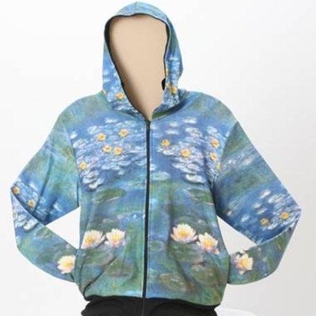 Waterlilies 2 Art Hoodie