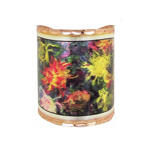 Monet Chrysanthemum Scarf Ring