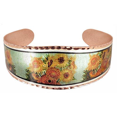Van Gogh Sunflowers Bracelet