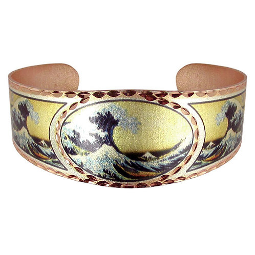 Hokusai The Great Wave Bracelet