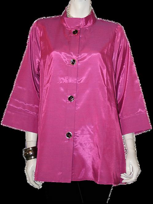 Purple/Pink Iridescent Solid Swing Top