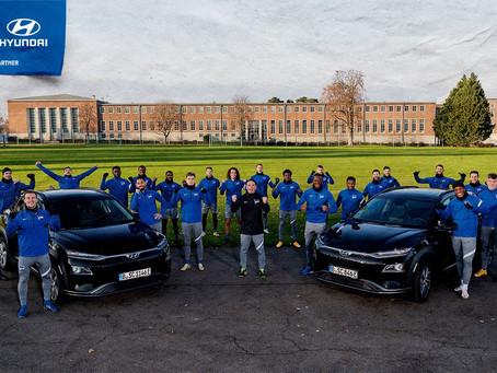 Hertha Berlin przedłuża umowę sponsorską z Hyundaiem