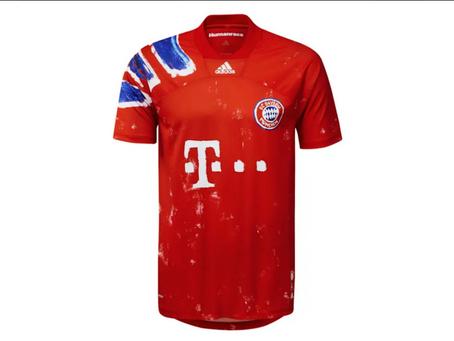 FC Bayern zagra mecz w koszulkach zaprojektowanych przez Pharrella Williamsa