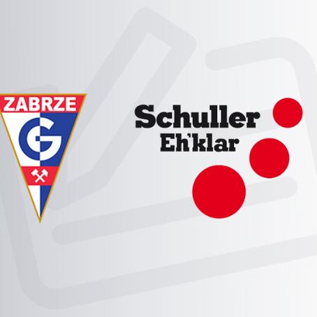 Firma Schuller Eh'klar sponsorem głównym Górnika Zabrze
