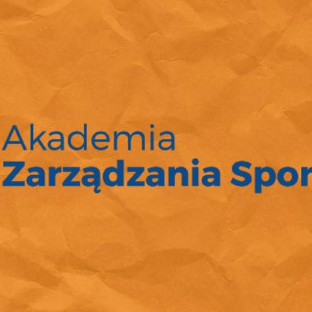 Akademia Zarządzania Sportem rusza z nowym projektem