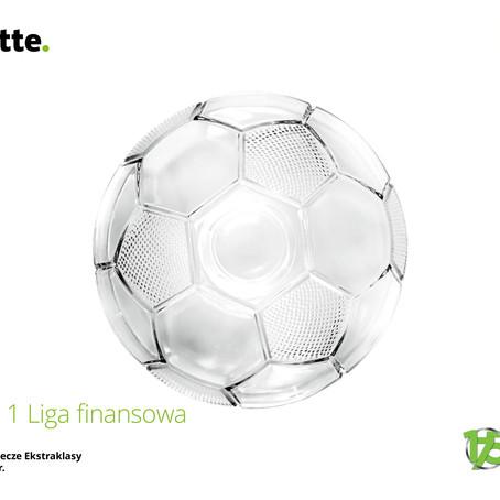 """Raport Deloitte """"1 liga finansowa"""""""