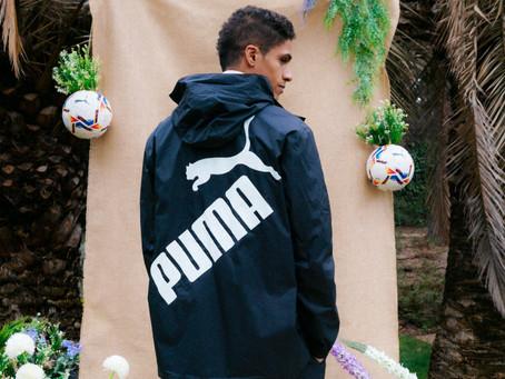 PUMA nawiązuje współpracę z mistrzem świata i rekordzistą Ligi Mistrzów Raphaëlem Varanem