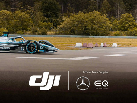 DJI partnerem Mercedes-Benz EQ Formula E Team