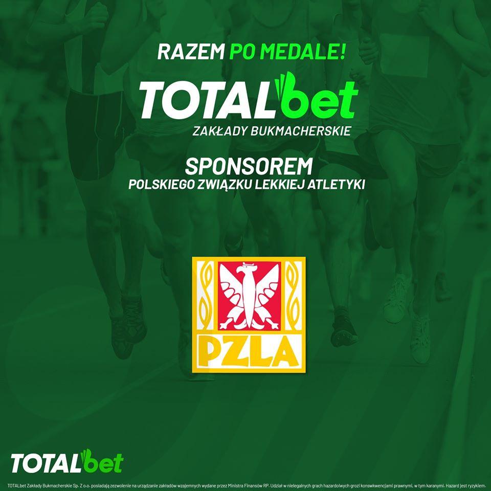 Sport Creative. Total Bet partnerem PZLA