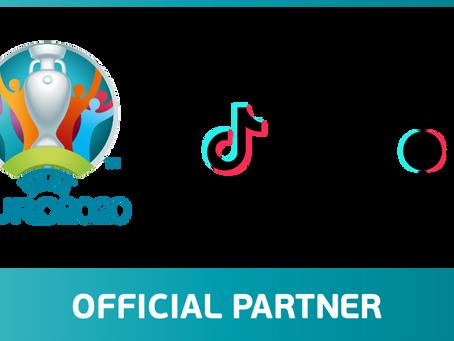 TikTok zostaje oficjalnym partnerem UEFA EURO 2020